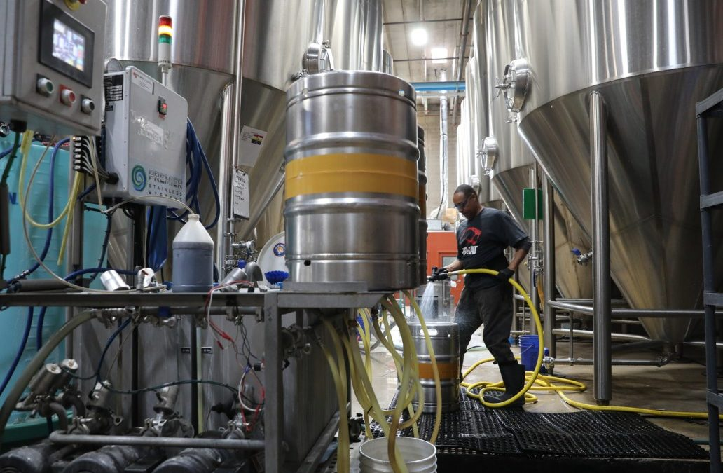 Colorado Wants Craft Breweries To Capture The CO2 Their Brews Burp Out, And Make Some Cash From It