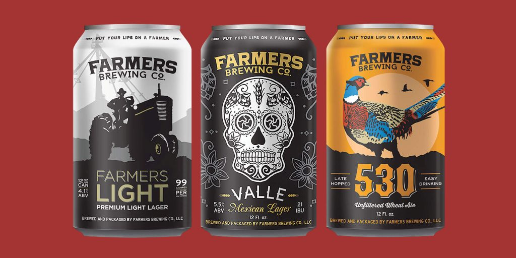 Farmers Brewing Co. Begins Releasing Offerings in Cans