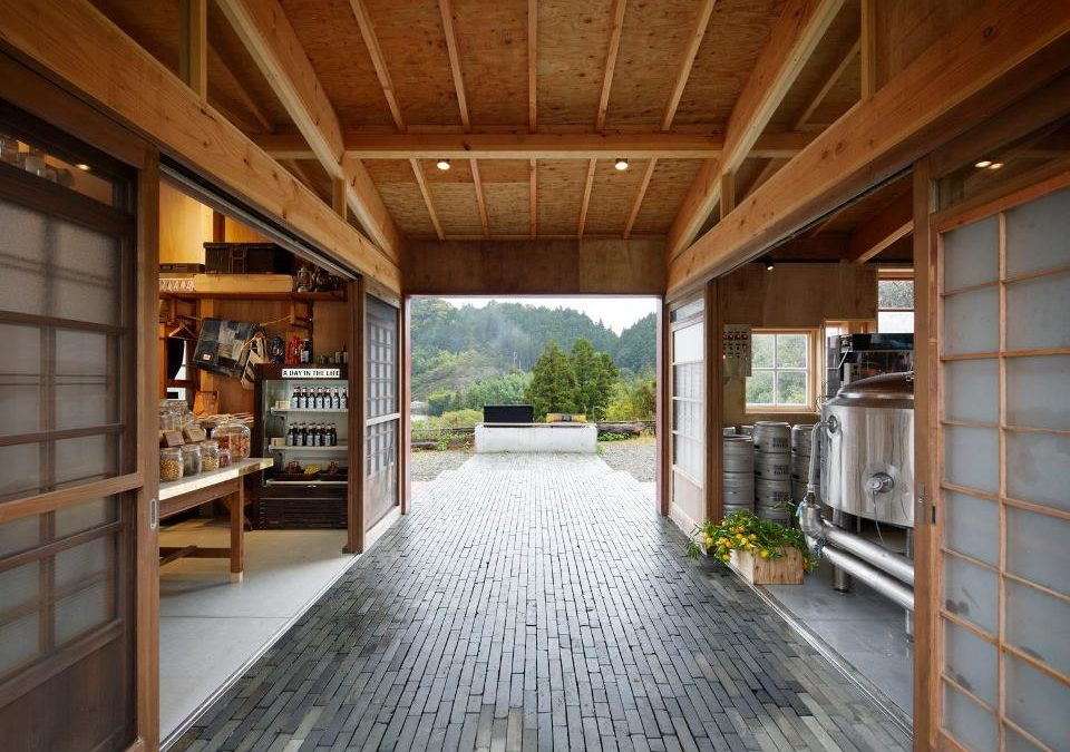 10 Minutes With Architect Hiroshi Nakamura On Designing A Sustainable, Zero-Waste Wooden Building [That is Made From Recovered Materials and Houses A Brewery & Pub]