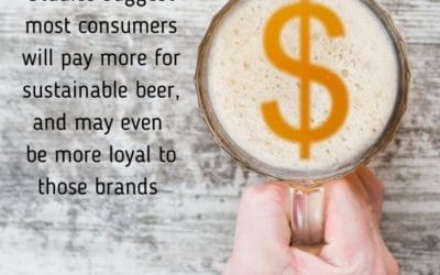 Sustainably Brewed Beer Can Cost A Little More, But Most Consumers Will Pay For It