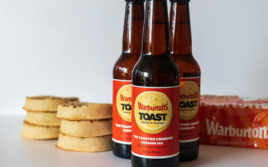 Toast Ale and Warburtons Use 'Wonky' Crumpets to Create Beer