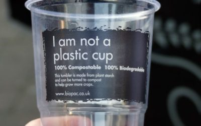 """Why That """"Compostable"""" Plastic Cup Isn't So Good for the Environment Either"""