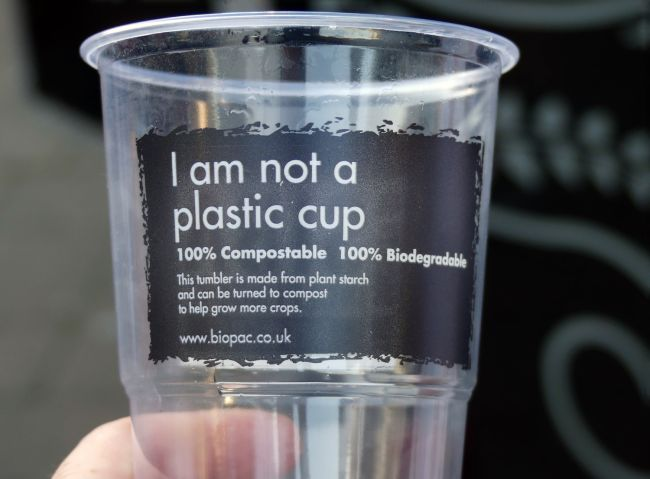 "Why That ""Compostable"" Plastic Cup Isn't So Good for the Environment Either"