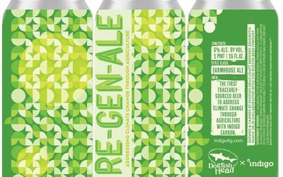 "Dogfish Head Brews ""Re-Gen-Ale"": The First Traceably Sourced Beer to Address Climate Change Through Agriculture using Indigo Carbon"