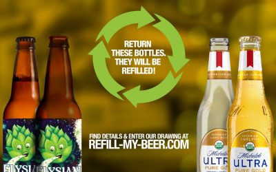 """Refillable Bottle Start-Up Company """"Conscious Container"""" Announces Launch of """"Refill My Beer"""" Pilot Program"""
