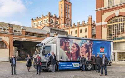 Renault Trucks and Carlsberg Beer Group Together Towards Carbon Neutral Distribution