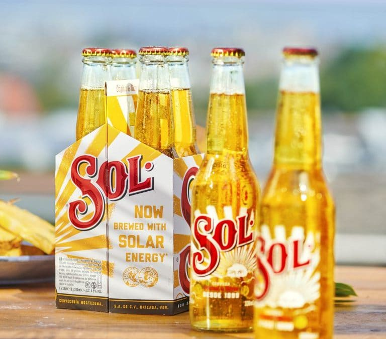Heineken Announces that it's Sol Brand is Now Brewed With Solar Energy