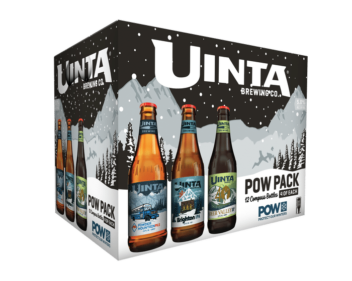 "Uinta Brewing Co. Releases Variety Pack Celebrating Climate Change Advocacy Group ""Protect Our Winters"""