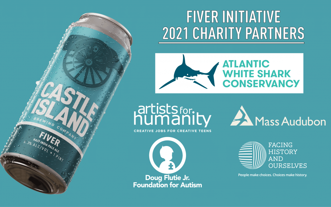 This Beer Gives Back: Castle Island Brewing Launches Fiver Initiative to Raise Funds for Local Causes