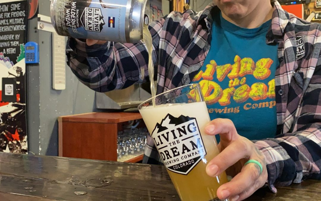 Living The Dream Brewing Brews Backcountry Wilderness Wheat For Backcountry Conservation & Education Fund