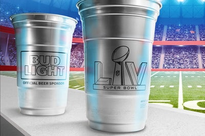 Ball to Present Its Infinitely Recyclable Aluminum Cups at The Big Game