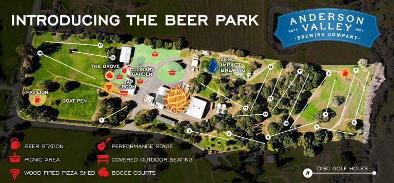 Anderson Valley Brewing Announces 30-Acre Beer Park