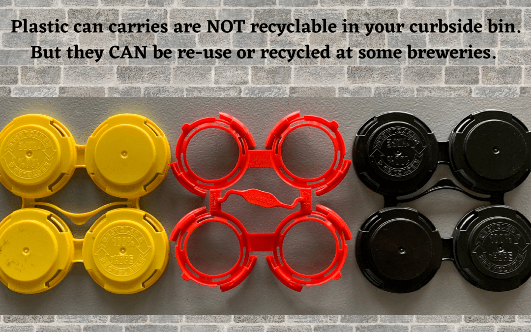 Just One Tenth of Plastic Can Carriers Get Re-Used Or Recycled in Massachusetts: A Team of Eco-Minded Breweries and Environmental Groups Plan to Change That