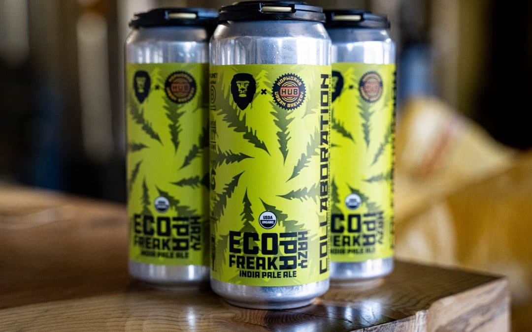 Eco Freaks Unite: Hopworks Urban Brewery and Aslan Brewing  Join Up for IPA Collab